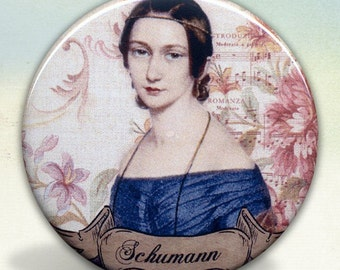 Clara Schumann Pocket Mirror