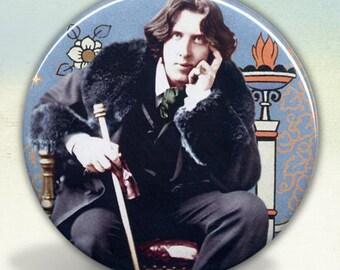 Oscar Wilde Pocket Mirror tartx
