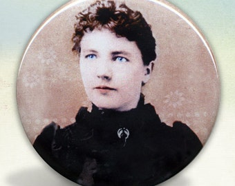 Laura Ingalls Wilder Pocket Mirror