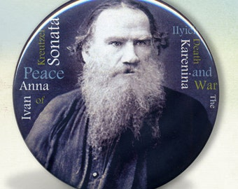 Leo Tolstoy pocket mirror tartx