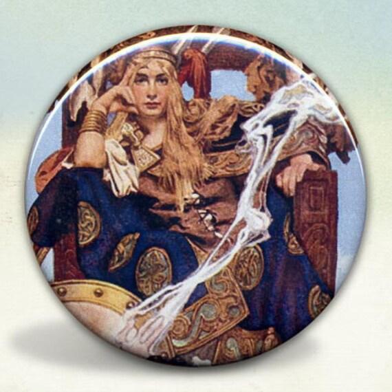Celtic Queen Maeve Pocket Mirror tartx