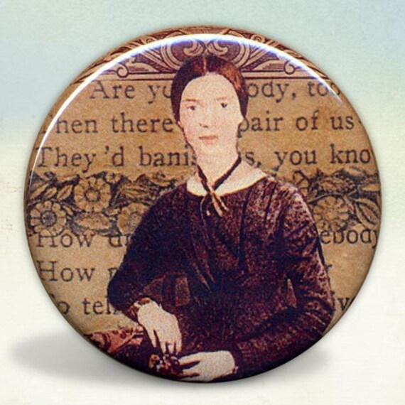 Emily Dickinson Pocket Mirror