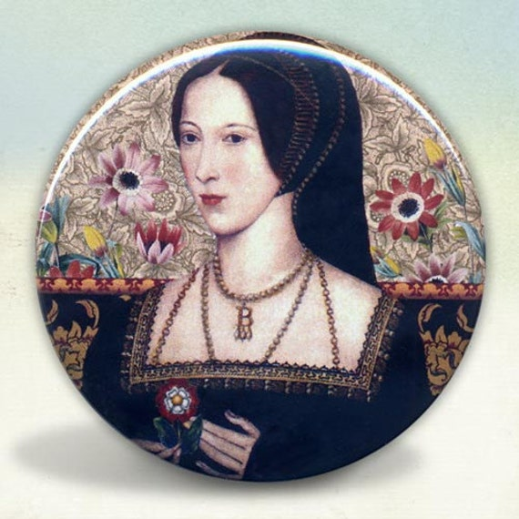 Anne Boleyn Tudors pocket mirror tartx