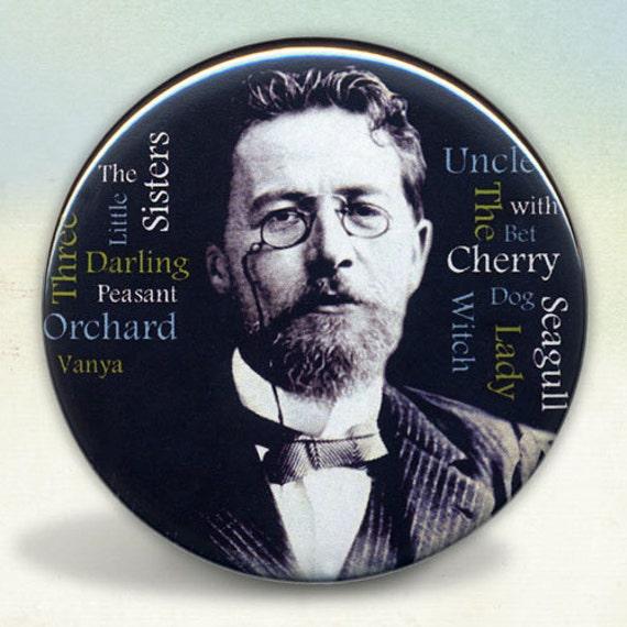 Anton Chekhov pocket mirror tartx