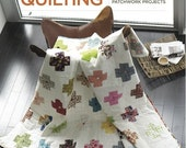 RESERVED FOR LISH - Signed Modern Log Cabin Quilting - Japan Earthquake Relief
