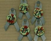Zombie Awareness Month Ribbon