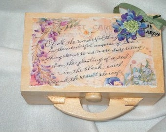 Trinket Box-Post Card