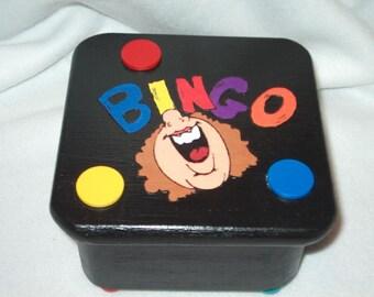 Trinket Box-Bingo Fan
