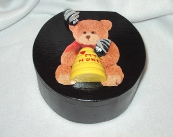 Trinket Box-Bee My Honeybear