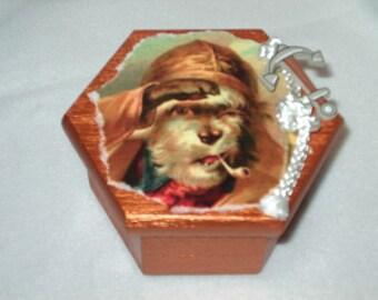 Trinket Box-Salty Dog