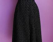 vintage high waist full skirt S\/M