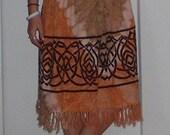 tapestry skirt hippie