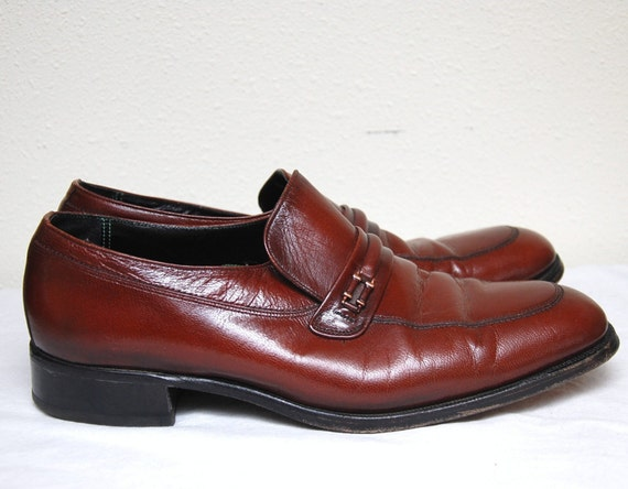 FLORSHEIM IMPERIAL LOAFERS / Leather Mens Shoes 10 D