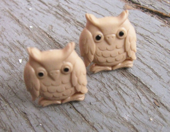 Sweet Owl Earrings