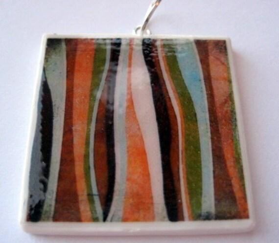 Cinnamon Stripes Pendant BUY 2 GET 1 FREE