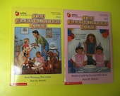 Baby-Sitters Club books (lot of two)