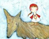 PRINT - Red Riding Hood