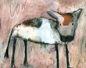 PRINT - Cow