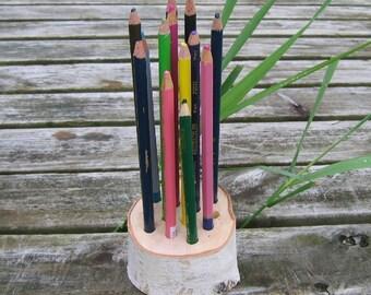 Birch Branch Pencil Holder