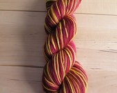 GRYFFINDOR STRIPE - SOFT Handpainted Sunshine Yarns Superwash