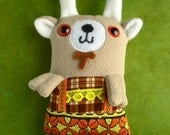 Dolph the Bavarian Goat Little Thistle plush toy