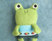 Felix Frog Little Thistle plush toy