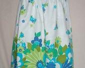 Sweet Baby Jane Summer Retro Edge Print Dress SALE