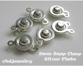 Supplies -- 9mm Snap Clasps(18)