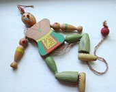 SALE - Native American Jumping Toy