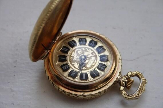 Vintage Chateau Swiss Made Ladies Pocket Watch