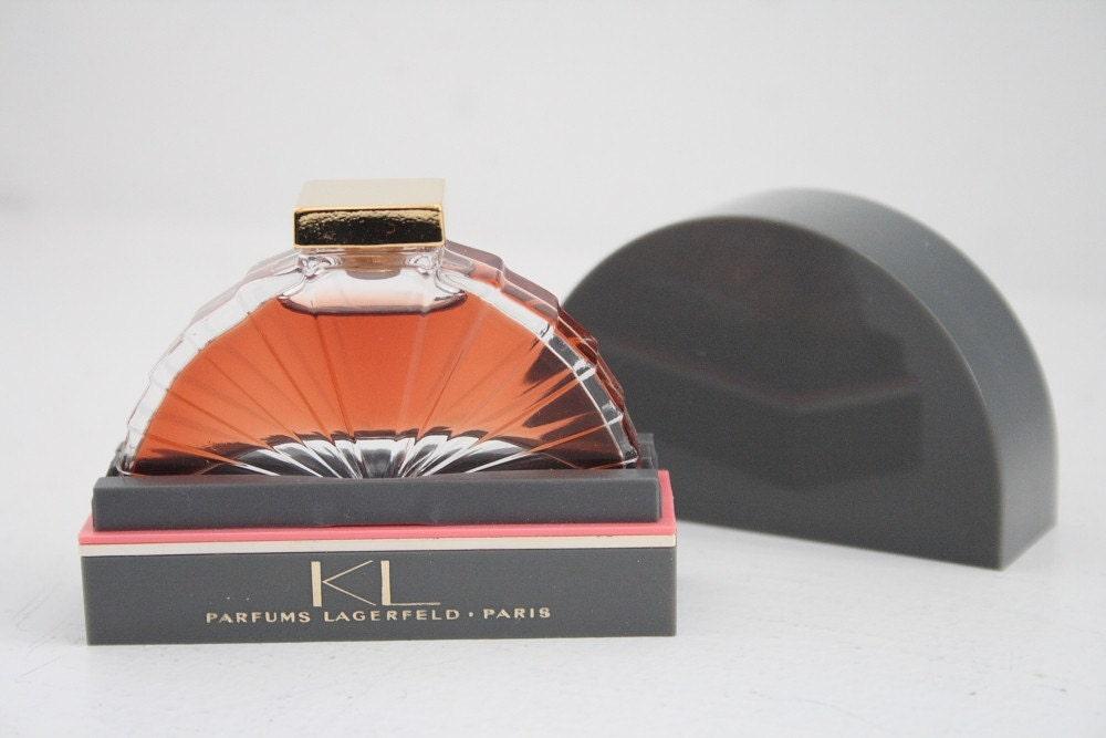 vintage karl lagerfeld kl parfum. Black Bedroom Furniture Sets. Home Design Ideas