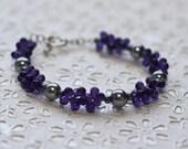 Grapes of Wrath beaded bracelet