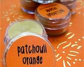 Natural Patchouli Orange Solid Perfume