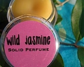 Wild Jasmine Solid Perfume Made with Floral Wax