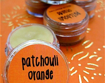 Natural Patchouli Orange Solid Perfume