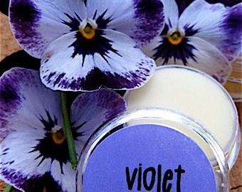 Violet Solid Perfume