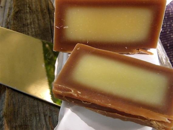 Fresh Praline Soap Log (Very Light Scent)