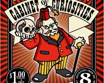 Professor Badger's Cabinet of Curiosities Mini Comic