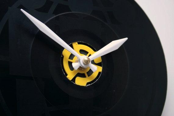 "Jack White - ""Fly Farm Blues"" 7 inch Vinyl Record Clock  Third Man Records"