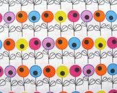 Fruity pop floral - HALF YARD - Original design fabric - limited edition