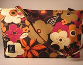 Retro Blooms Handbag