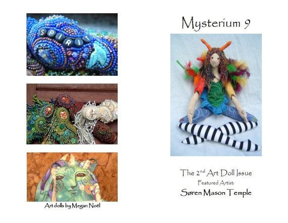 Mysterium Zine Issue 9 -art dolls