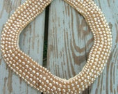 Sally Gee Beaded Pearl Collar Necklace