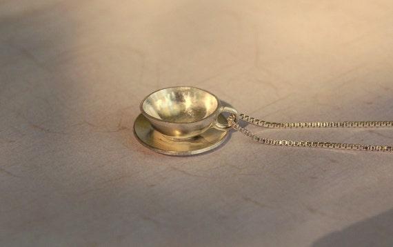 Sterling Silver Teacup