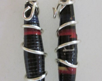 Paper and Silver 1 Earrings