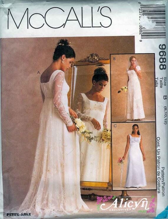 New mccalls renaissance ren fair wedding dress pattern sizes for Wedding dress patterns mccalls