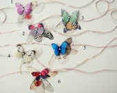 RESERVED For Lauren Butterflies all Over Necklace or Headband or Bracelet
