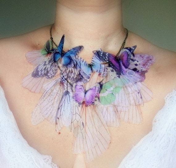 Fluttery Breath of Life Necklace- 3