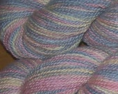 Dancing with Fireflies Sport Weight Cormo Wool Yarn Handpainted with Natural Dyes - UPDATED