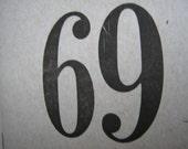 Kerbloom 69 letterpress zine